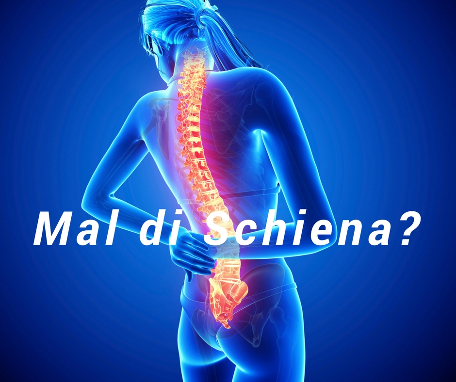 Mal di schiena: sintomi, cause, tutti i rimedi